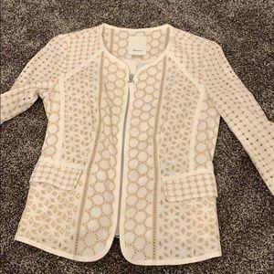 Zip up cardigan/blazer